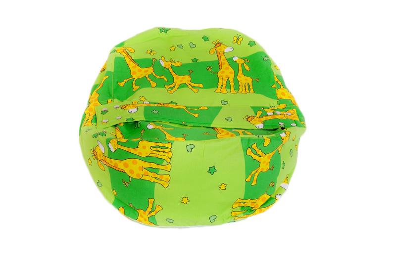 Liegekissen Giraffe grün 1