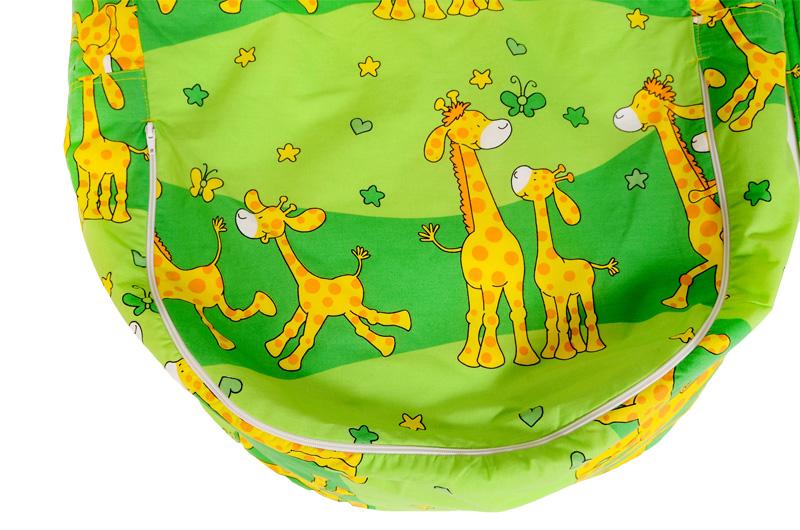 Liegekissen Giraffe grün 2