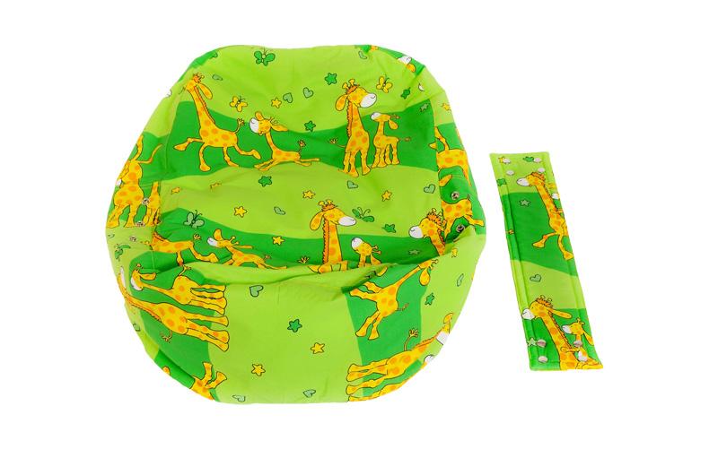 Liegekissen Giraffe grün 3