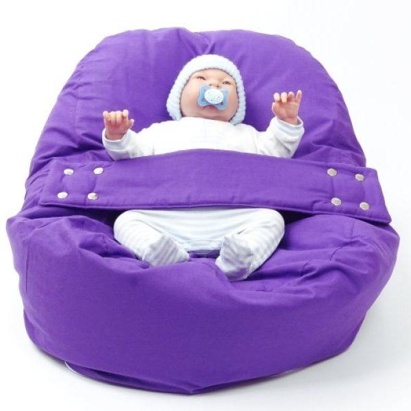 Babykissen Lila Baumwolle