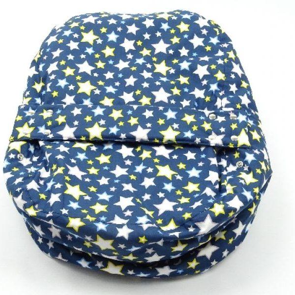 Baby Nestchen Blau Sterne