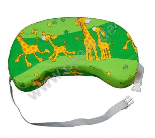 Reisestillkissen Giraffe grün