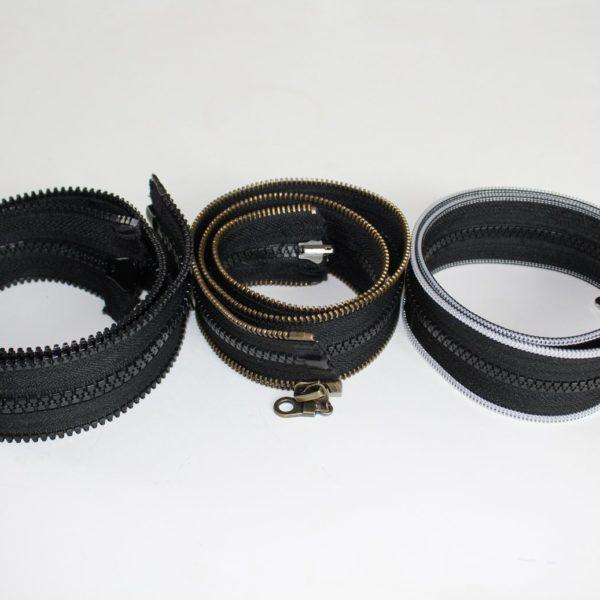 Reißverschlussadapter für verschiedene Reißverschluss Typen