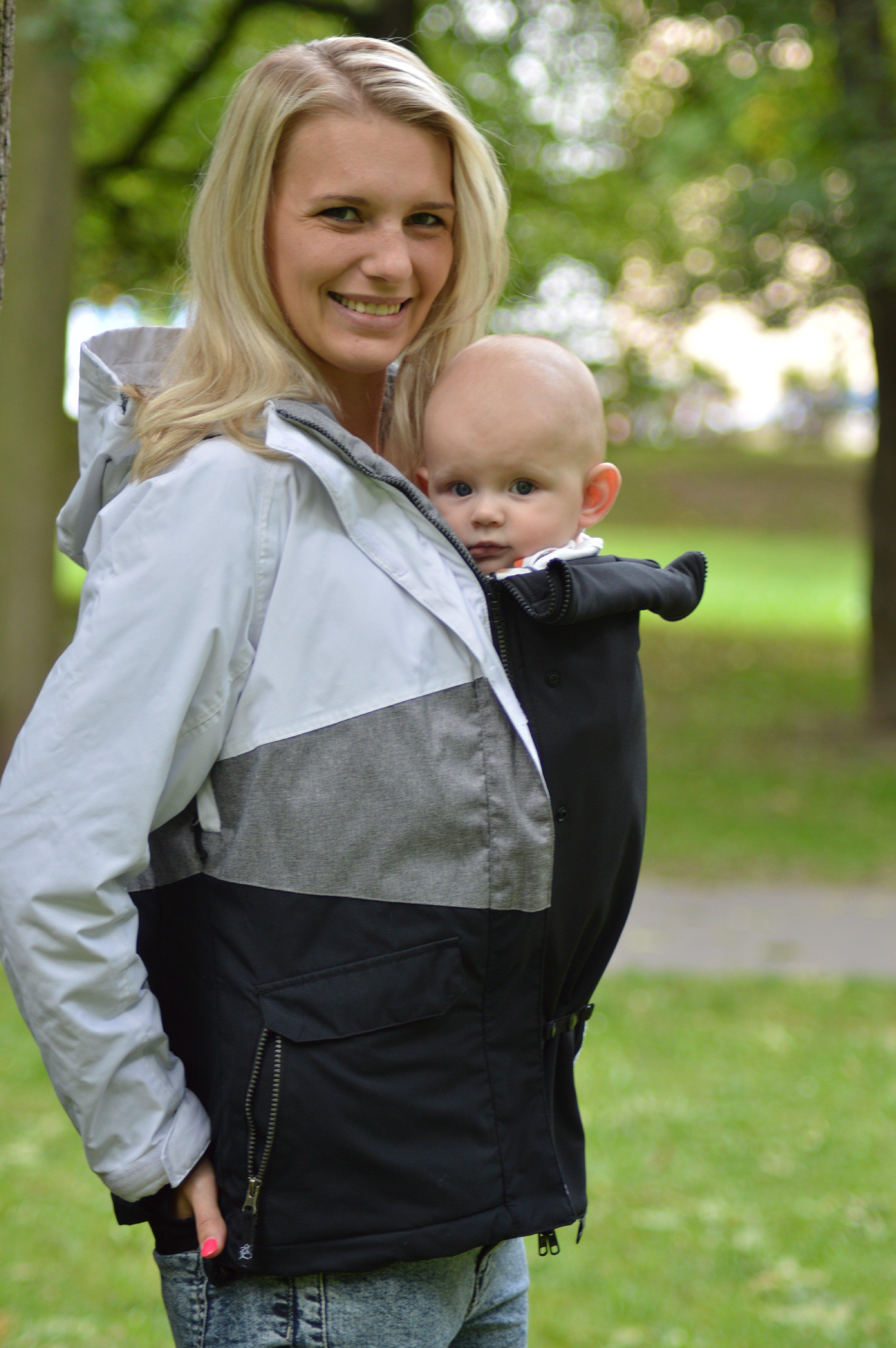 Jackeneinsatz für Schwangerschaft und zum Tragen