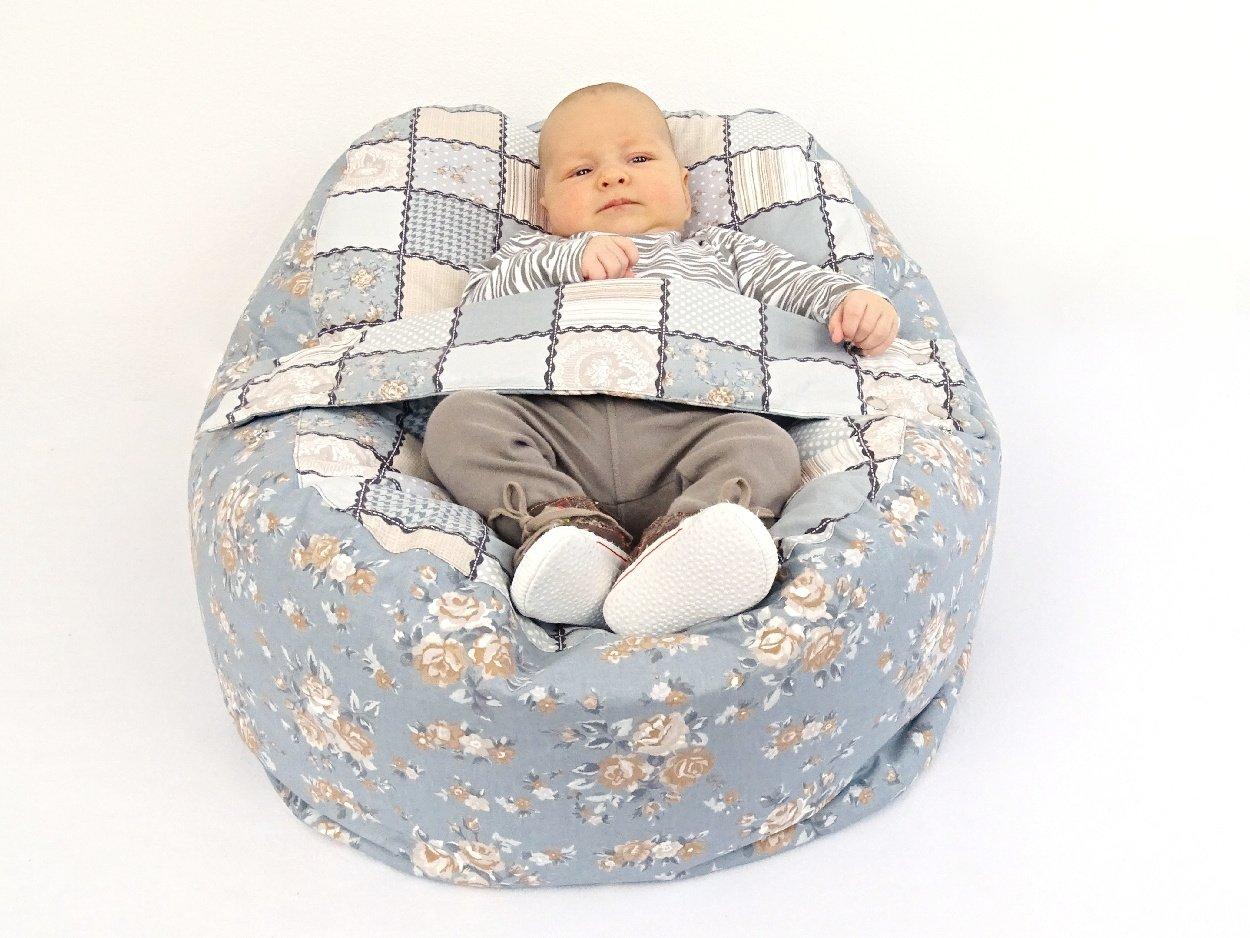 Liegekissen Patchwork für Babys
