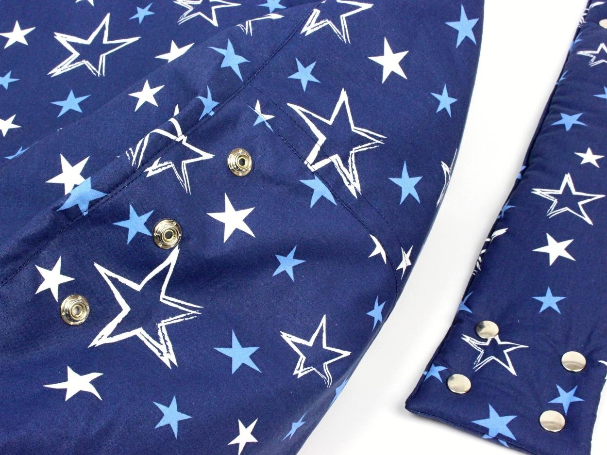 Liegekissen Sterne blau 6