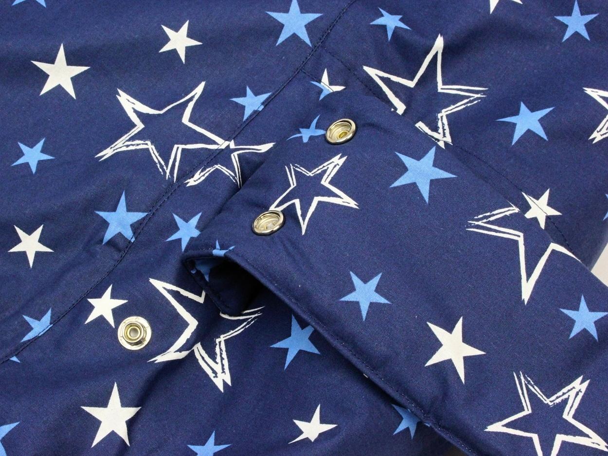 Liegekissen Sterne blau 7