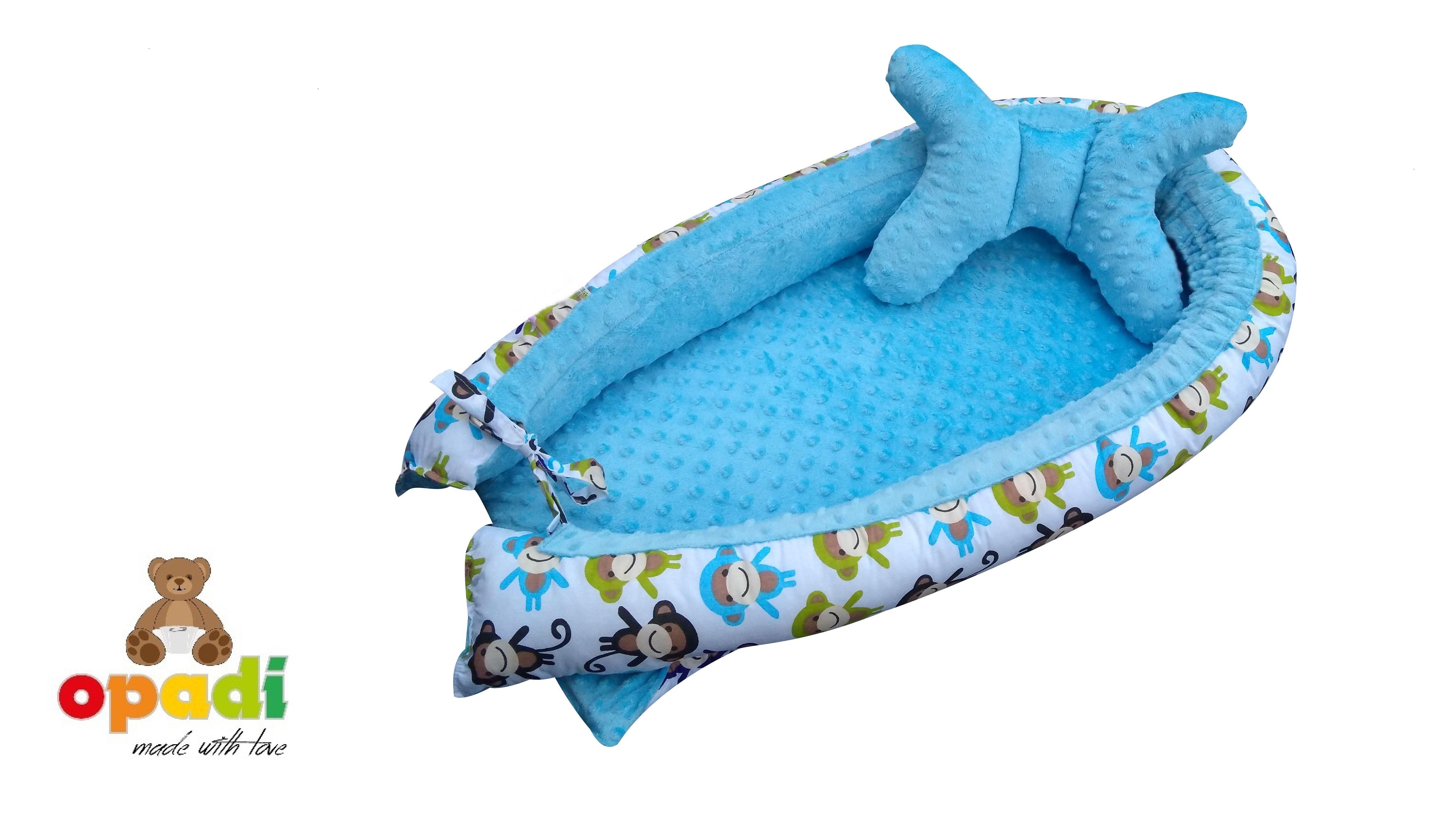 Opadi Nestchen Affen-blau