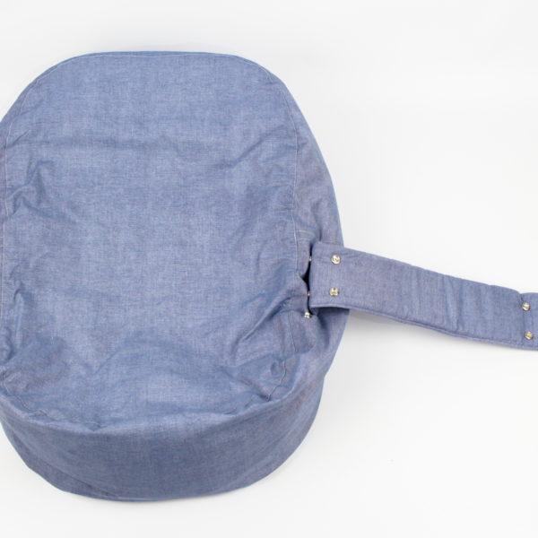 Babykissen Blau Denim Style