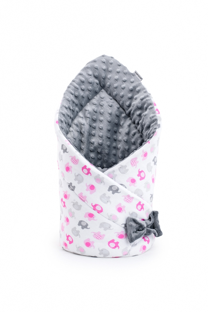 Babyhörnchen Elefanten rosa 2