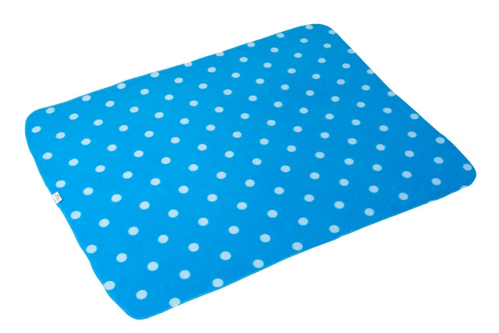 Fleecedecke blau 1