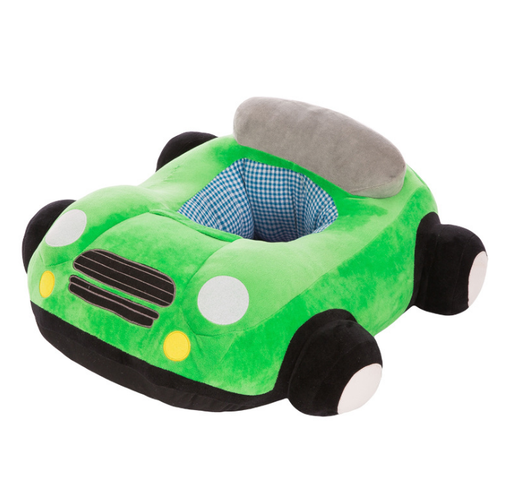 Babysessel Auto grün