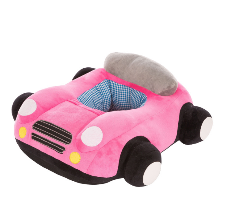Babysessel Auto rosa