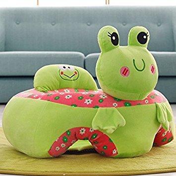 Babysessel Frosch grün