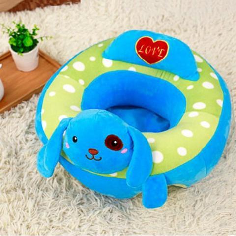 Babysessel Hund blau
