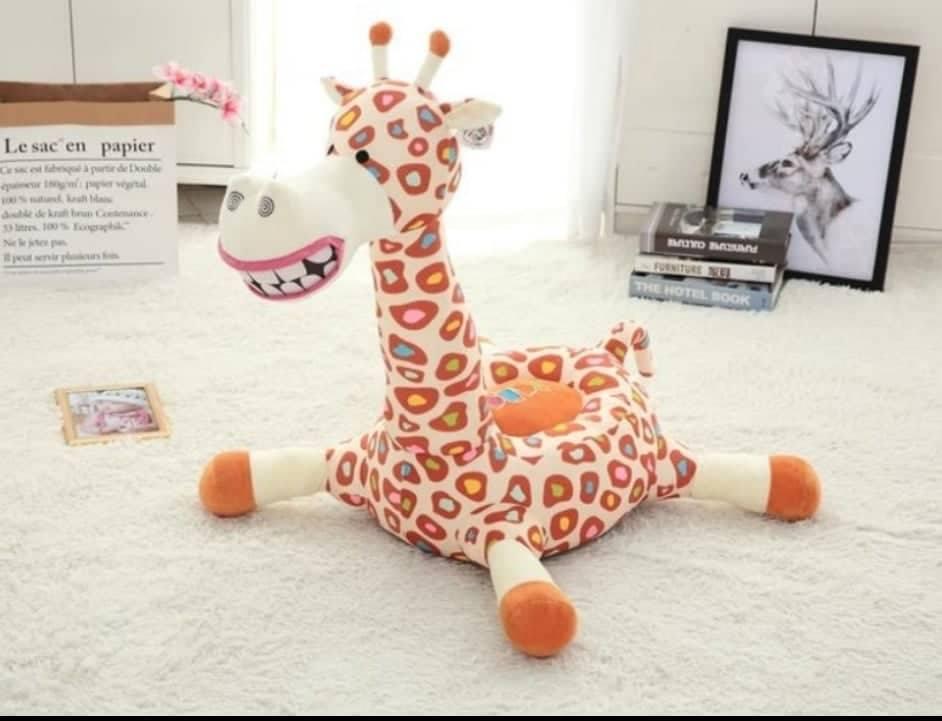 Kindersessel Giraffe liegend 1