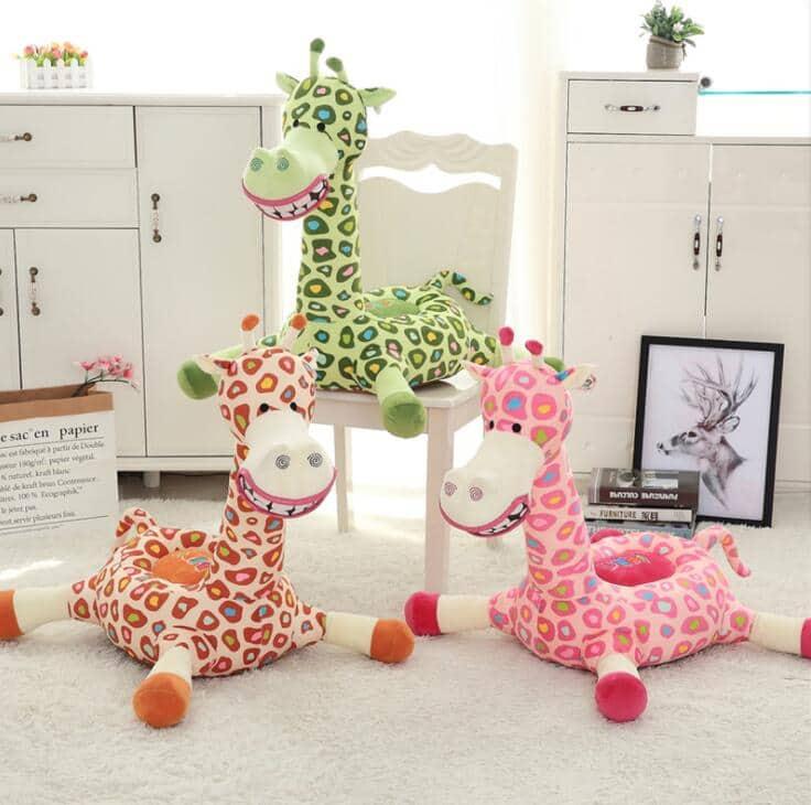 Kindersessel Giraffe liegend 3