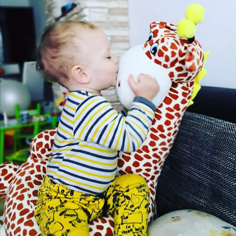 Kindersessel Giraffe 10