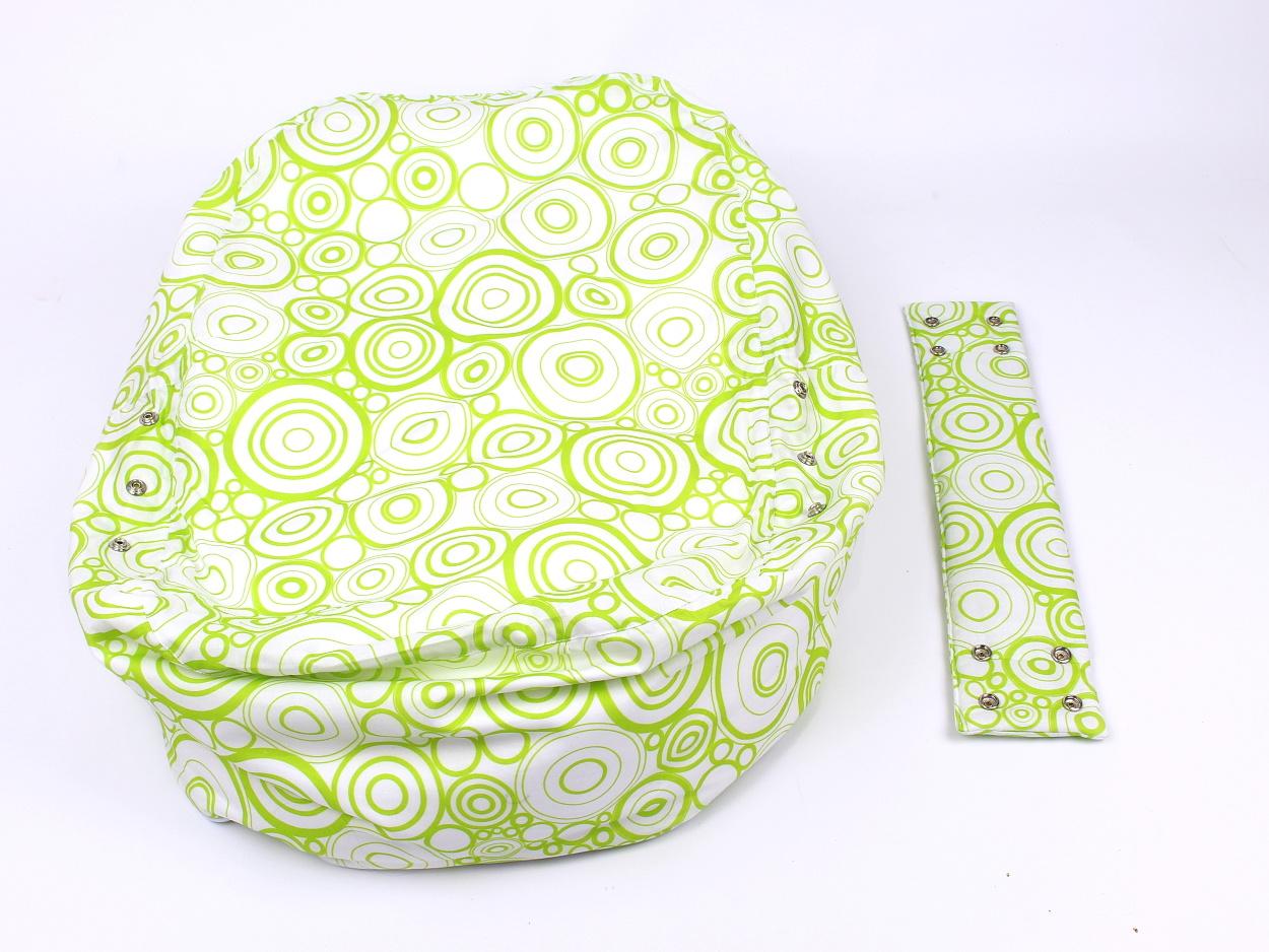 Liegekissen grüne Kreise 10