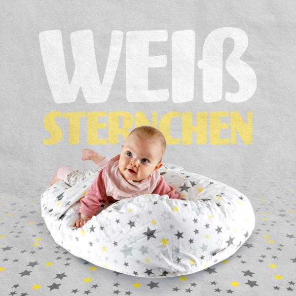 """Liegekissen """"Stars"""" Mit Sternmuster"""